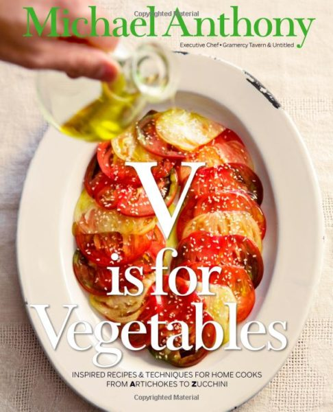 V is For Vegetables Cookbook