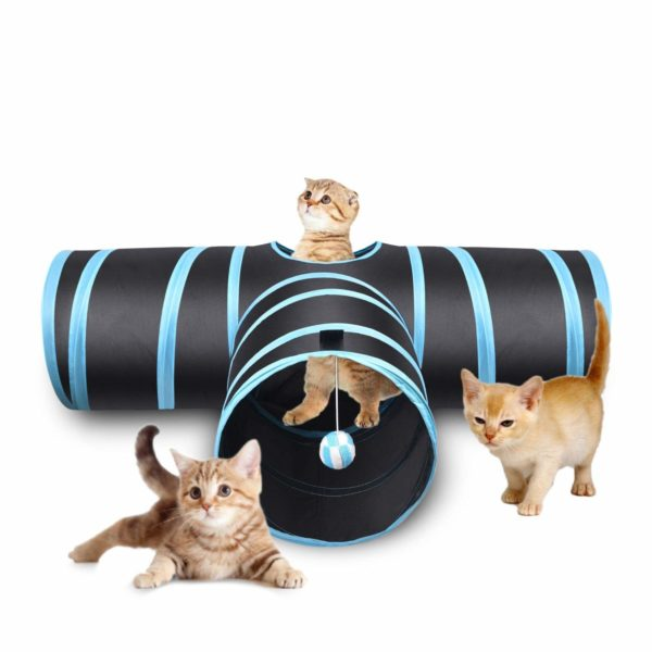 Creaker 3 Way Cat Tunnel