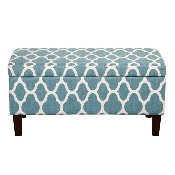 HomePop Rectangular Storage Ottoman