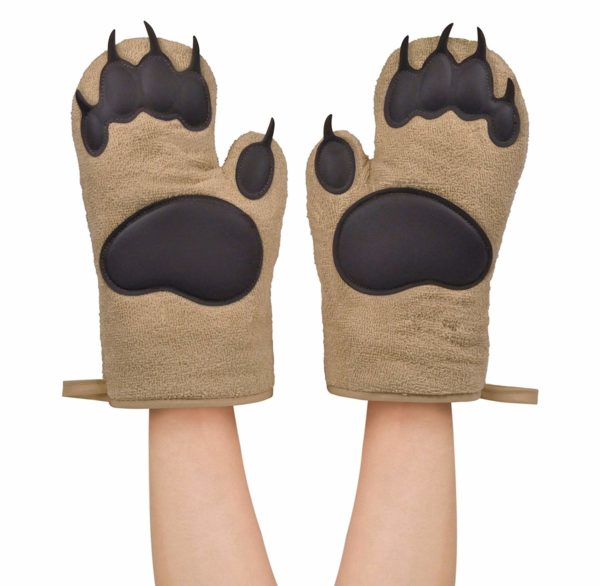 Bear Hands Oven Mitts by Fred & Friends