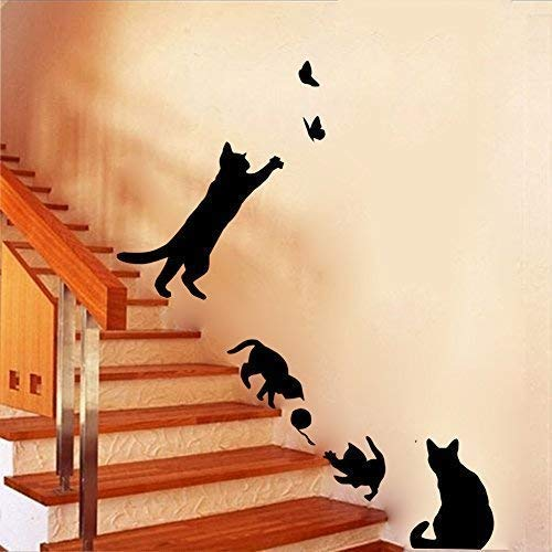Boodecal Vinyl Cat Decor