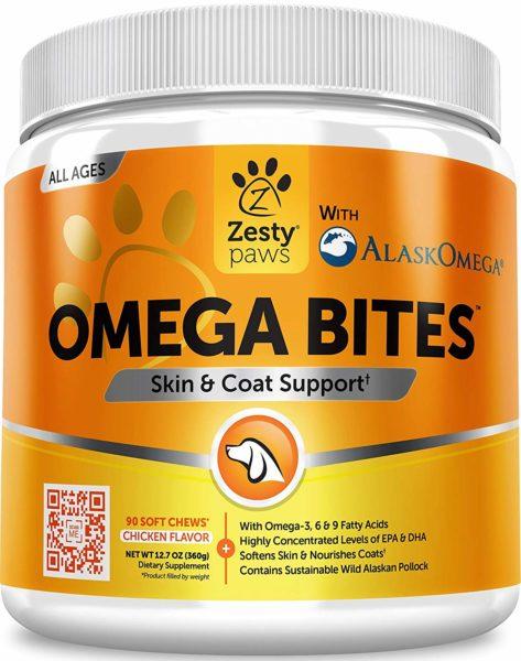 Zesty Paws Omega Chews