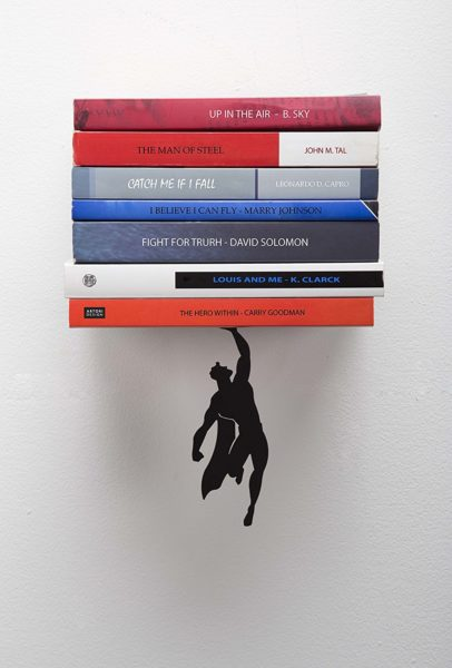 Artori Floating Superhero Bookshelf