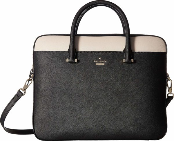 "Kate Spade New York Women's 13"" Saffiano Laptop Bag Black"
