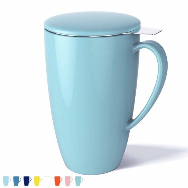 Tea Mug with Infuser and Lid