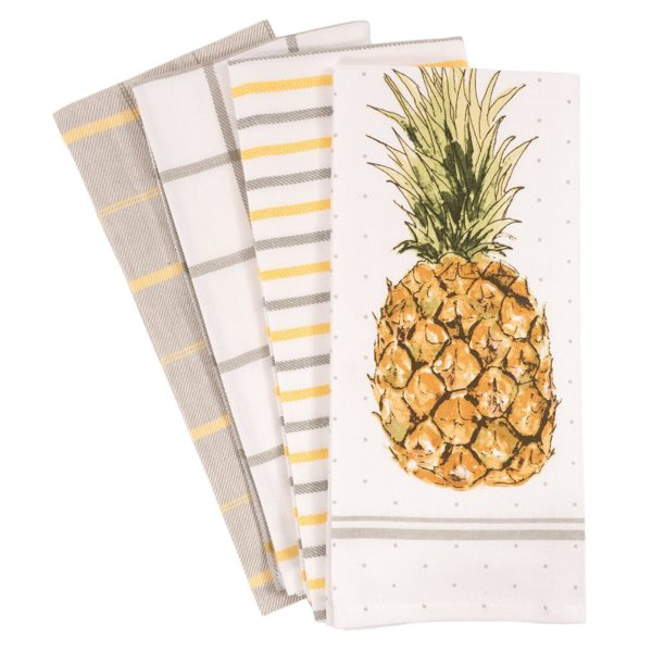 Pineapple Towels by KAF Home