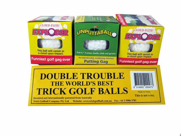 Trick Golf Balls by Trick Golfball Company