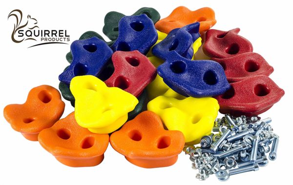 Squirrel Products Rock Climbing Holds