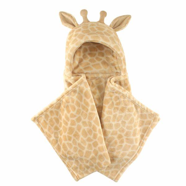 Hudson Baby Hooded Plush Blanket