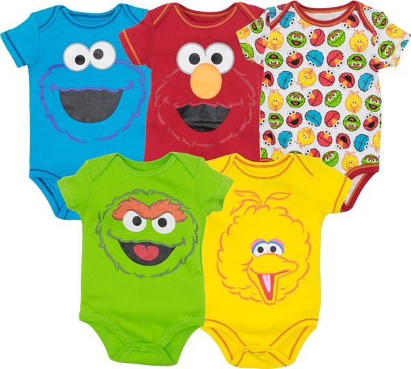 Sesame Street Baby Bodysuits
