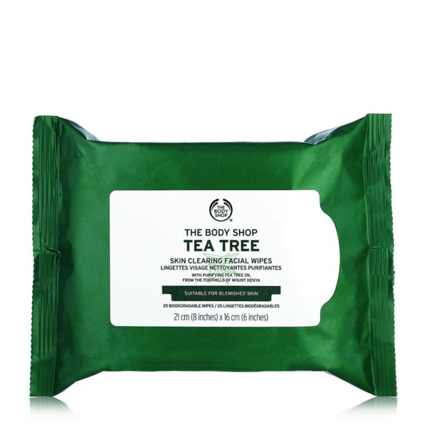 The Body Shop Tea Tree Wipes