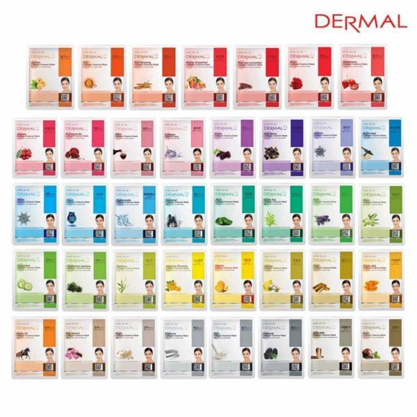 DERMAL Collagen Essence Face Masks