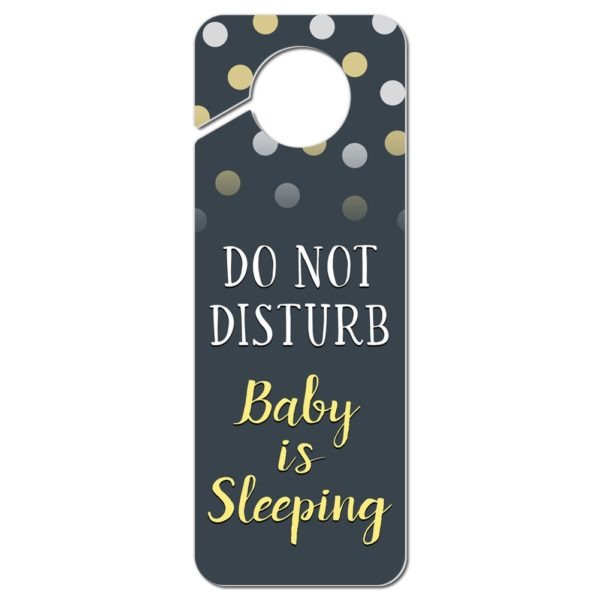 """Do Not Disturb"" Door Knocker by Graphics and More"