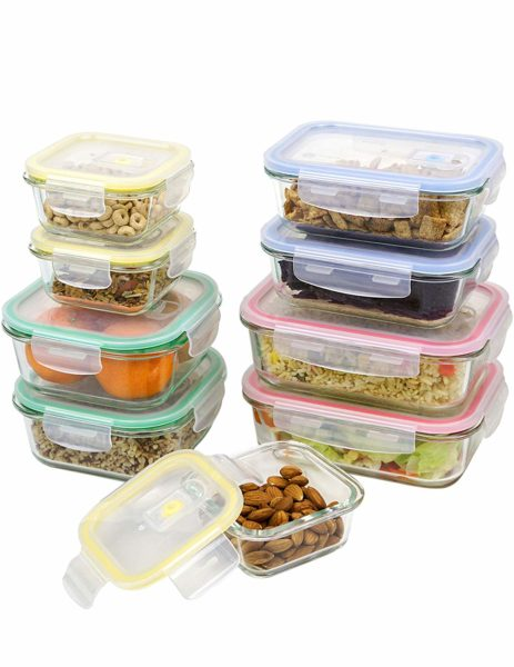 Vremi Glass Storage Containers