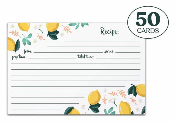 Jot & Mark Recipe Cards