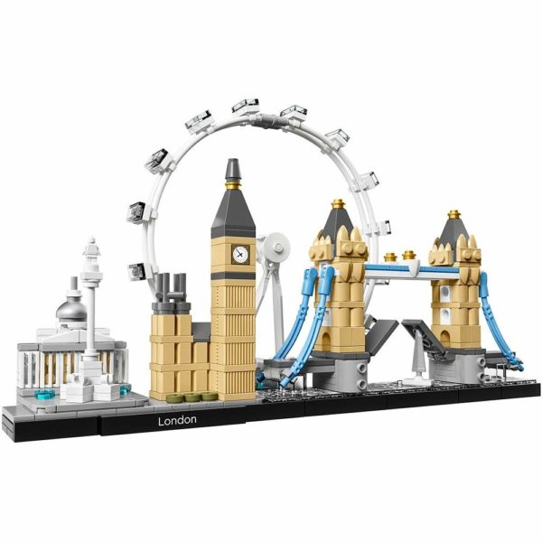 London Skyline by Lego