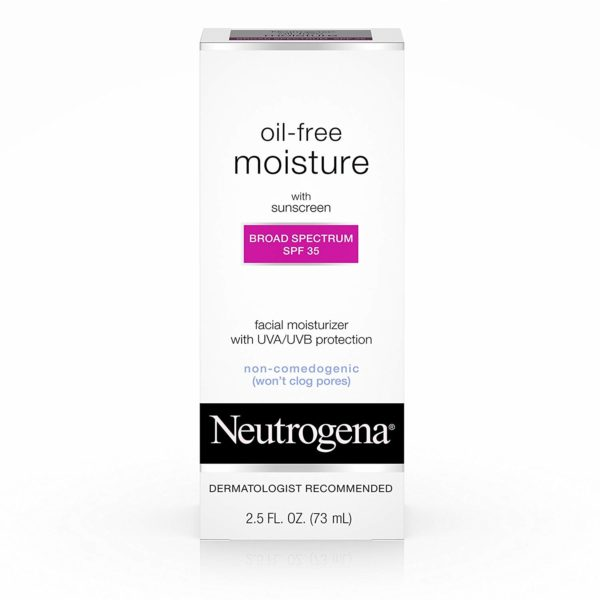Neutrogena Moisturizer with Sunscreen