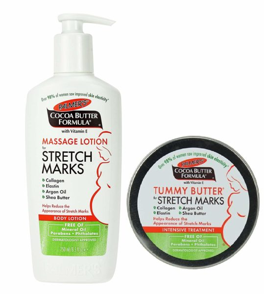 Palmer's Stretch mark and massage lotion