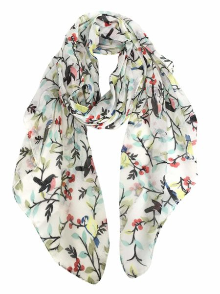 Gerinly Floral Scarf