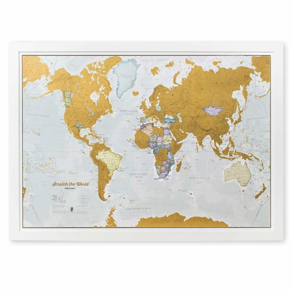 Maps International Scratch Travel Map