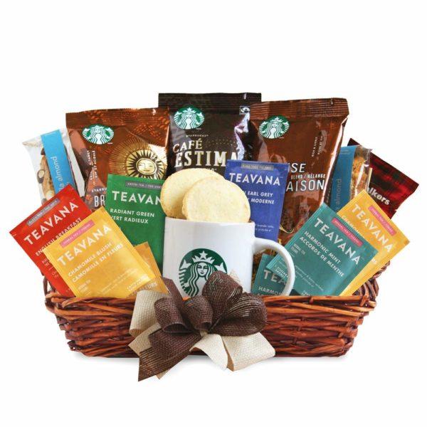 Starbucks Daybreak Gourmet Coffee Gift Basket