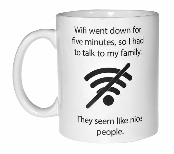 Wifi Quote Mug by Neurons Not Included