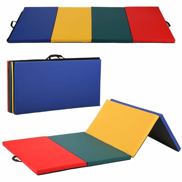 Gymnastics Mat 4 Panel Folding