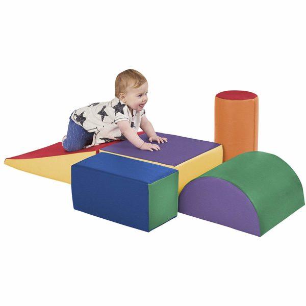 Climb and Crawl Foam Play Set by ECR4Kids