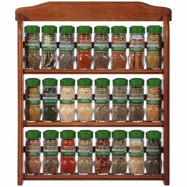 McCormick Gourmet Organic Spice Rack