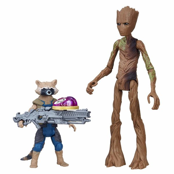 Marvel Avengers: Infinity War Rocket Raccoon & Groot with Infinity Stone