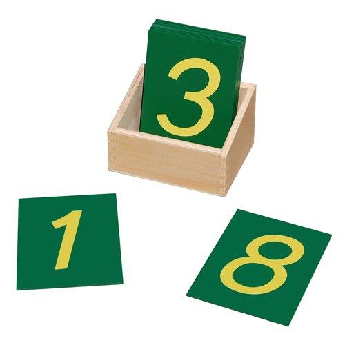 Montessori Sand Paper Numbers