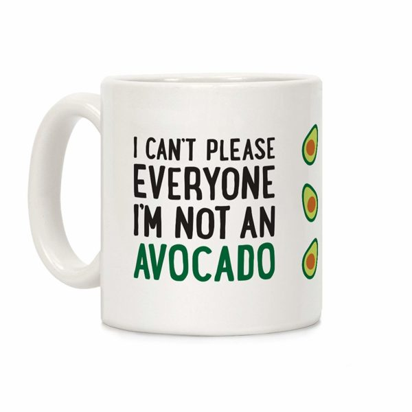 Avocado Mug by LookHUMAN