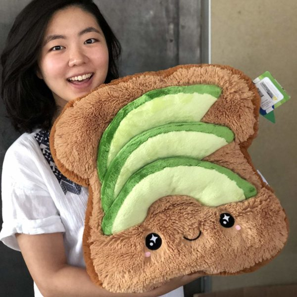 Avocado Toast Plush Pillow