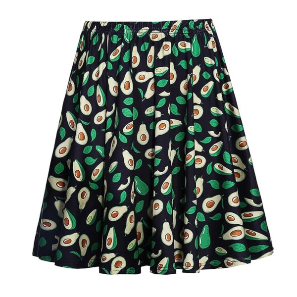 Avocado Skirt by Fancyqube