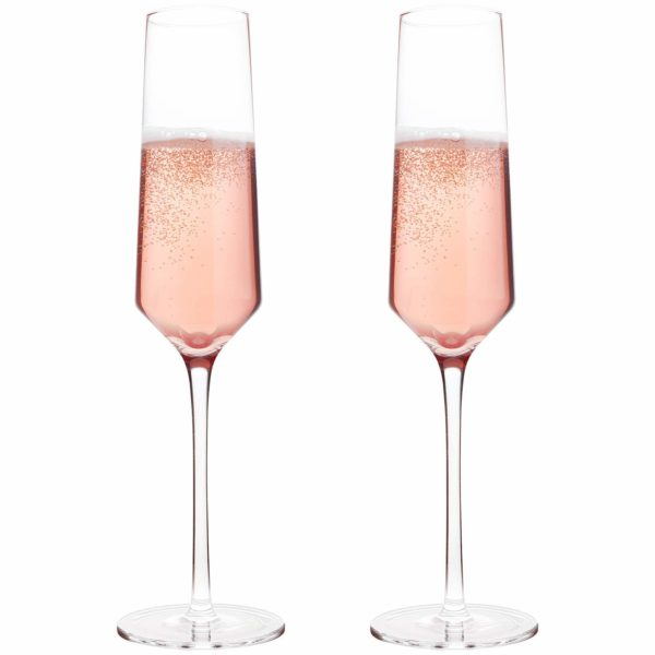 Bella Vino Champagne Flutes