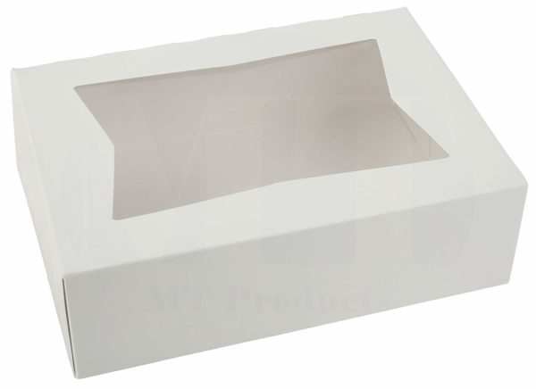 White Paper Pastry Box by MT Products