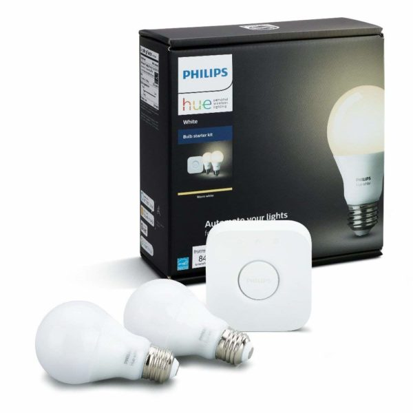 Philips Hue White and Color Ambiance LED Smart Bulb