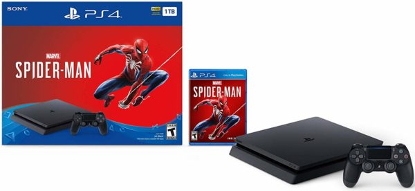 PlayStation 4 Slim 1TB Console - Marvel's Spider-Man Bundle