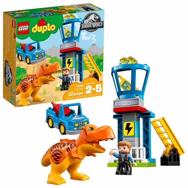 LEGO DUPLO Jurassic World T. rex Tower