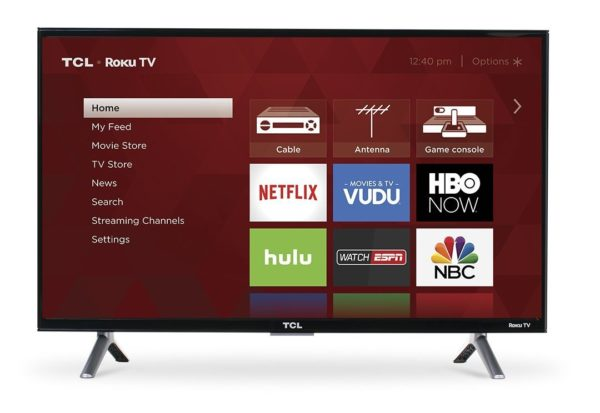 TCL 28-Inch 720p Roku Smart LED TV