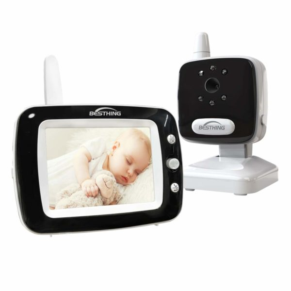 "Baby Monitor with 3.5"" LCD Screen"