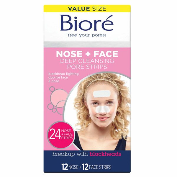Bioré Blackhead Removing and Pore Unclogging Deep Cleansing Pore Strip