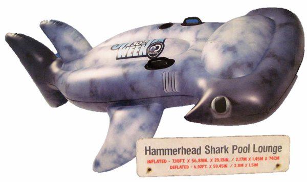 Discovery Shark Week Hammerhead Shark Pool Lounge