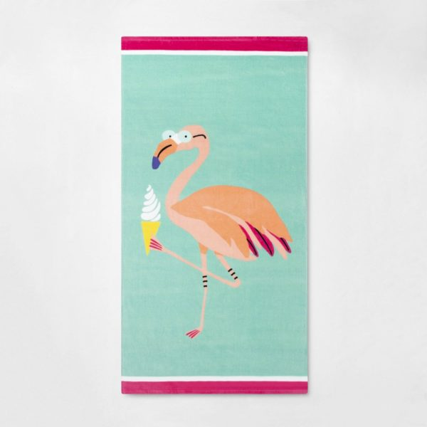 Flamingo Beach Towel - Sun Squad™