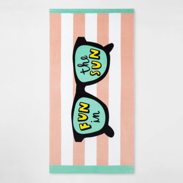 Fun in the Sun Sunglass Beach Towel