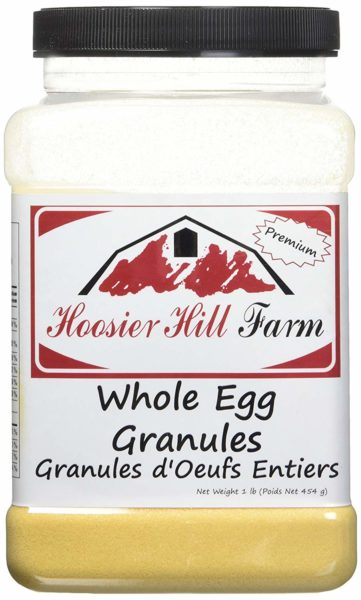 Hoosier Hill Farm Whole Egg Granules, 1 Pound
