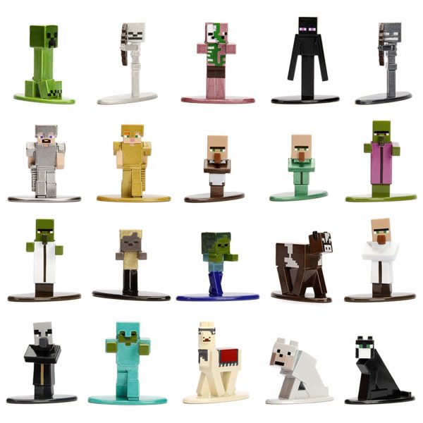 Jada Toys Minecraft 20-Pack Wave 1 Die-cast Figure
