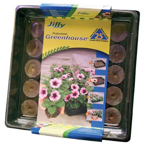 Jiffy 42mm Professional Greenhouse 25-Plant Starter Kit