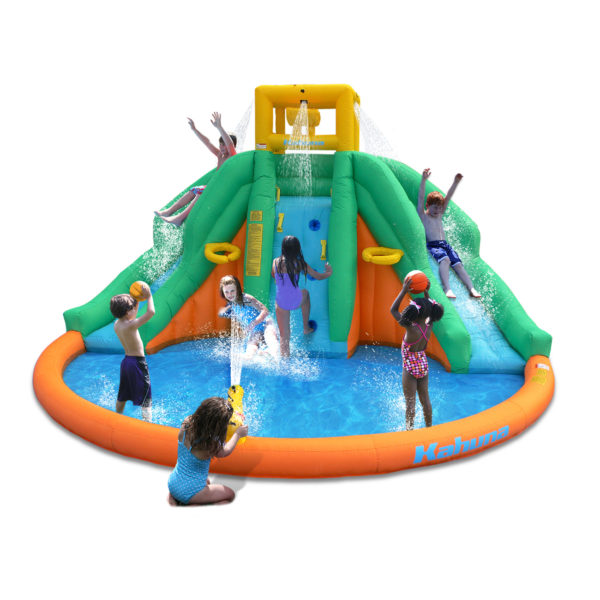 Kahuna Twin Peaks Kids Inflatable Splash Pool