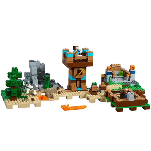 LEGO Minecraft The Crafting Box 2.0 21135 Building Kit